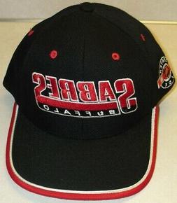 BUFFALO SABRES Vintage 90s Adjustable Strapback hat Original